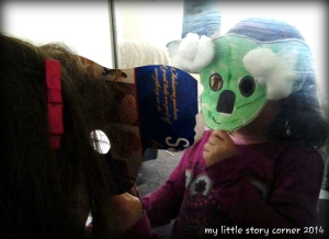 koala mask mirror