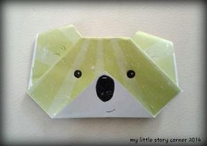 koala origami