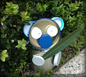 recycled can koala