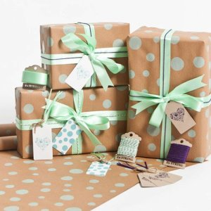 mint-dots-gift-wrap