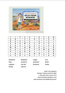 Hello from nowhere wordsearch